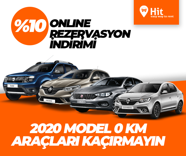 Hit - 0 km 2020 model araclari kacirmayin
